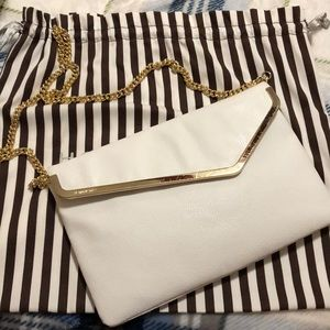 Henri Bendel White Crossbody - Clutch